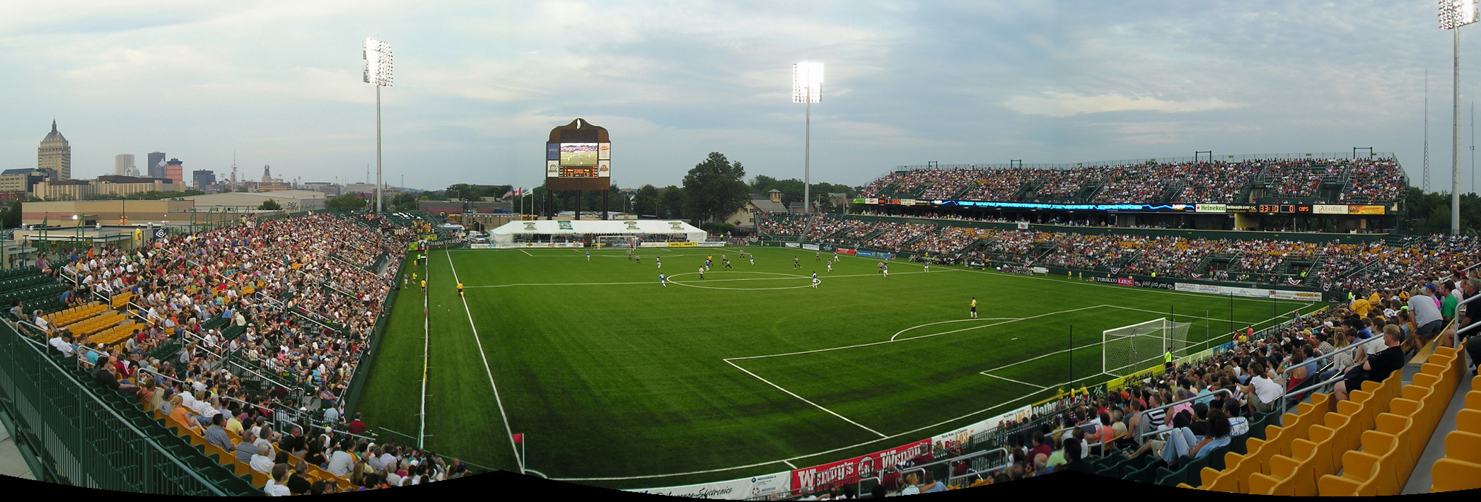 Former Marina Auto Stadium, now Sahlen's Stadium, Rochester, N.Y.